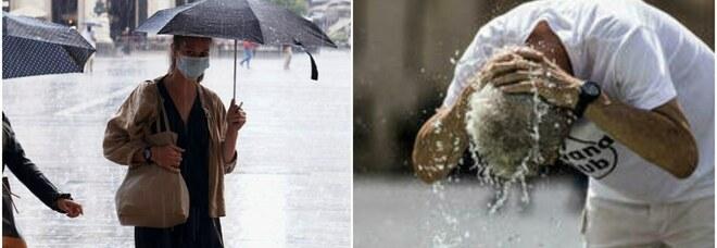 Meteo, maltempo al Nord, caldo africano al Centro-Sud: da domani Italia spaccata in due