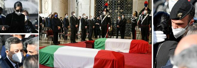 Attanasio e Iacovacci, i funerali di Stato: «Angoscia per giustizia disattesa»
