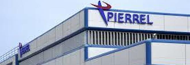 Lo stabilimento di Pierrel a Capua (Caserta)