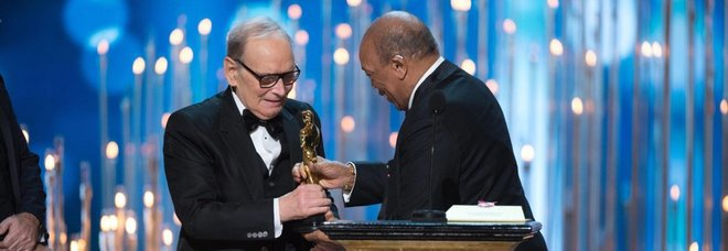 Morricone, due Oscar e una stella sulla