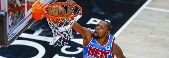 NBA, Utah centra la decima vittoria di fila. Lakers ko, i Big Three guidano i Nets