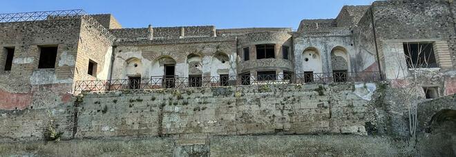 Pompei, al via il cantiere di messa in sicurezza dell'insula occidentalis