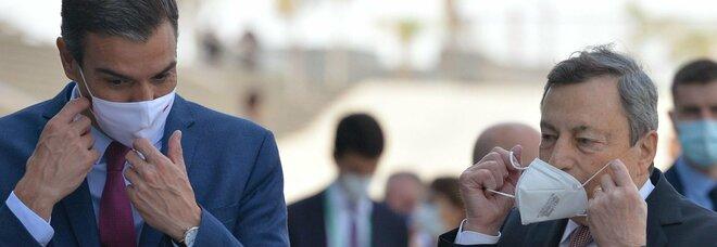 Draghi: «Usciamo dalla crisi grazie ai vaccini, acceleriamo sull'occupazione»