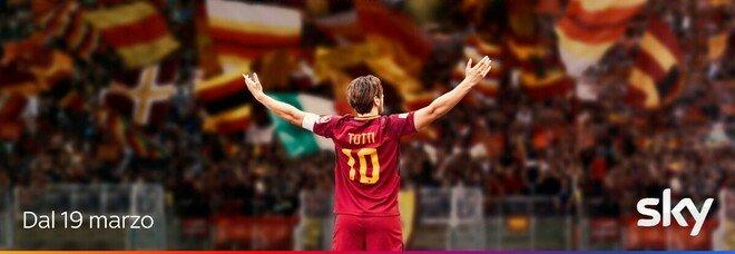 """MES-Collaboraz. Totti, """"Speravo de morì prima"""" in onda dal 19 marzo: pubblicato il trailer ufficiale"""