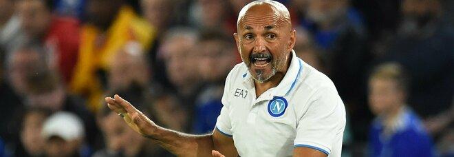 Napoli, Spalletti esalta i suoi: «La reazione è stata importante»