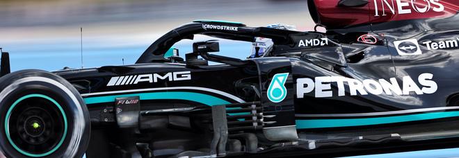 La Mercedes al Paul Ricard