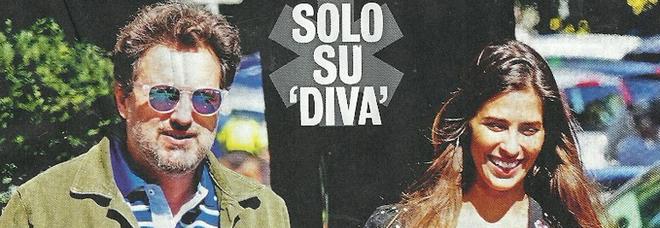 Leonardo Pieraccioni e Ariadna Romero a Roma