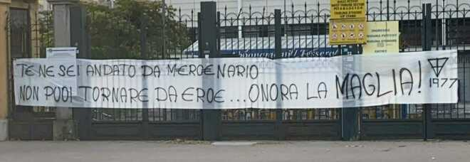 Buffon, la Curva protesta: «Te ne sei andato da mercenario, non puoi tornare da eroe»