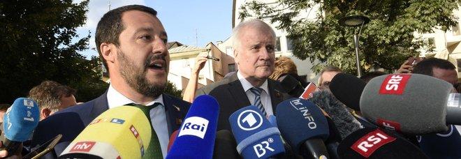 Migranti, Salvini vede Seehofer: asse Italia-Germania, frontiere protette