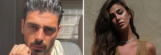 Michele Morrone e Belen Rodriguez (Instagram)