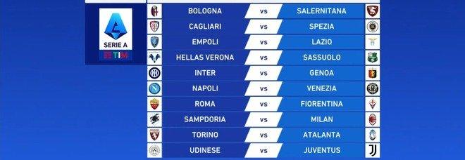 Via al sorteggio del calendario di Serie A: si inzia con Roma-Fiorentina ed Empoli-Lazio