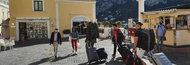 Il vaccino per i turisti? Capri-Covid free dice no