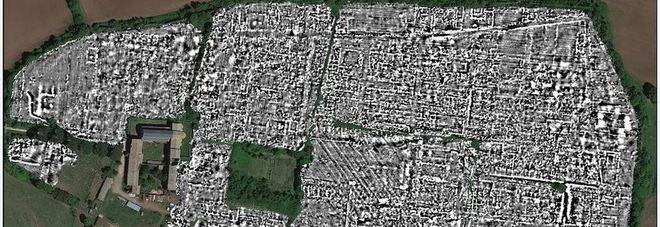 Nella foto l'area indagata con il radar Gpr