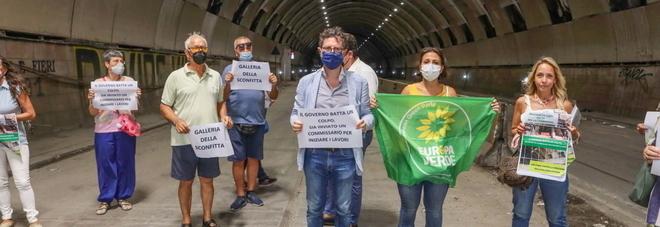 Napoli, una raccolta firme per chiedere la riapertura della Galleria Vittoria