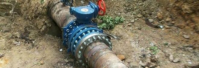 Forte perdita e lavori a una condotta: disagi idrici a Benevento e dintorni