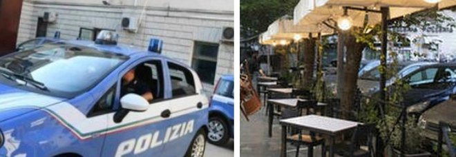 Roma, straniero molesta due ragazze al bar poi aggredisce il gestore che le aveva difese