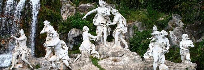 La fontana di Diana e Atteone restaurata grazie a 40mila euro offerti dal Soroptmist