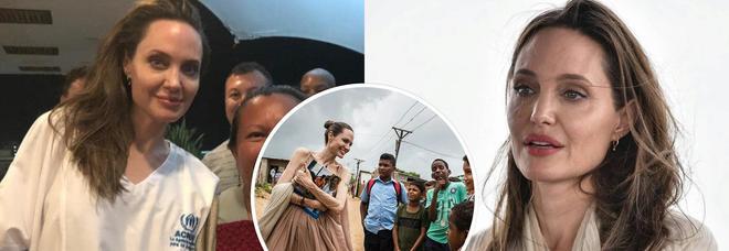 Angelina Jolie visita i rifugiati, fan in ansia per la sua salute. Le voci: «Ha preparato il testamento»