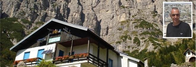 Il rifugio Settimo Alpini e Federico De Lazzer