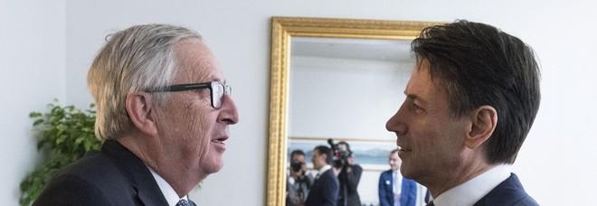 Menù cena Juncker-Conte legato decisioni domani