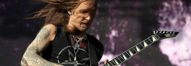 Musica metal in lutto: è morto Alexi Laiho. La sua ex band: «Stava male da tempo»