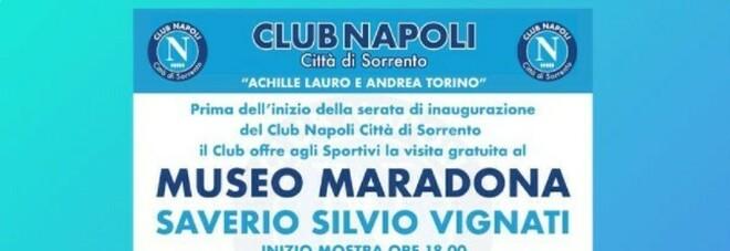 Club Napoli Città di Sorrento dedicato a Lauro e Torino