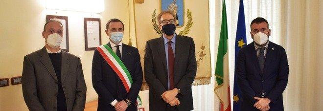 Ercolano, il prefetto Valentini visita la nuova caserma dei carabinieri