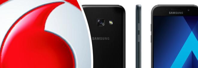 Black Friday 2017, Vodafone regala un Samsung Galaxy A3: ecco come ottenerlo
