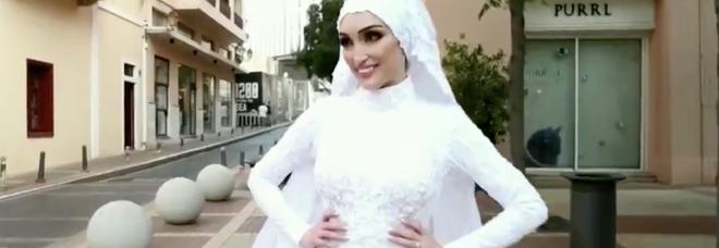 Beirut, il racconto choc della sposa travolta dall'esplosione: «È stato un incubo»