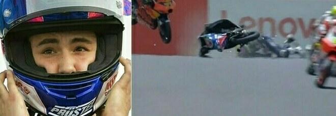 Jason Dupasquier, incidente in Moto 3 al Mugello: il pilota è in gravissime condizioni