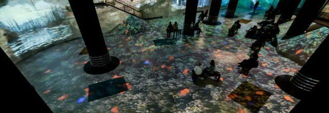 Da Monet a Klimt senza i quadri: a Napoli l'esperienza è in 3D