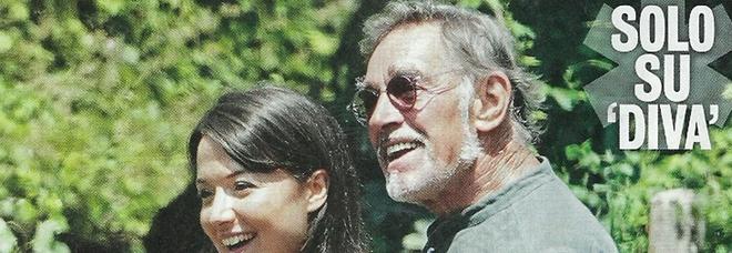 Fabio Testi con la nuova fidanzata, Lisa Agnelli (Diva e donna)