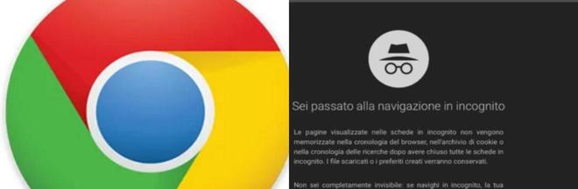 Google Chrome e la navigazione in incognito, una falla per anni ha violato la privacy degli utenti