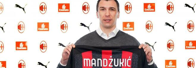 Milan, Mandzukic è ufficiale: ha scelto la maglia numero 9