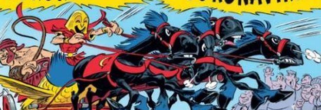 Coronavirus è il personaggio nel fumetto di Asterix che nel 2017 partecipò alla