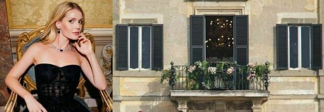 Lady Diana, la nipote Kitty si è sposata a Roma: nozze da sogno nella villa del Papi