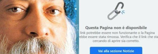 Facebook chiude: Le più belle frasi di Osho . Stop alla pagina satirica di Federico Palmaroli