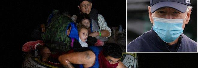 Usa, migranti al confine col Messico: per Biden è «crisi», per la Casa Bianca...no