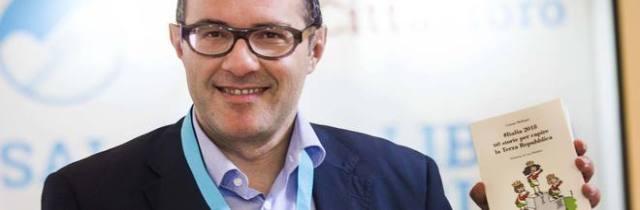 Gianni Molinari al Clubino per «Lo spettacolo dei libri»