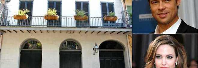 Brad pitt e angelina jolie vendono la casa di new orleans for Piani di casa di new orleans
