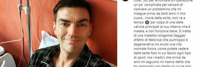 Gabry Ponte sui social: «Devo affrontare un'operazione complicata al cuore»