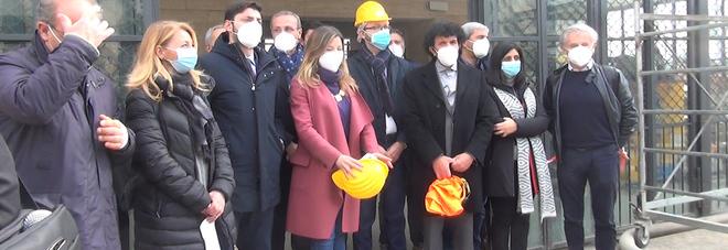 Metropolitana di Napoli, Clemente a piazza della Repubblica: «I lavori sono al 90%»