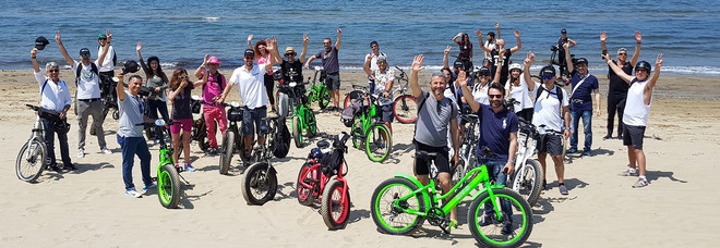 Jamboree, la carica delle bici elettriche nei Campi Flegrei