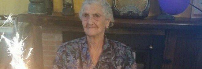 Nonna Nannina spegne 100 candeline: neanche il Covid l'ha fermata