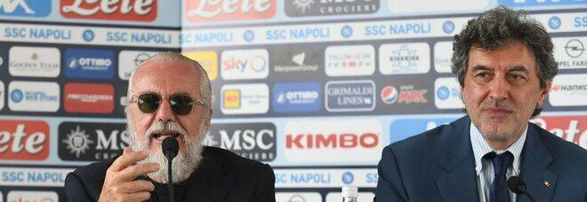 Napoli, in Abruzzo a fine luglio: «I tifosi saranno allo stadio»
