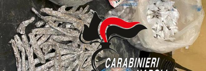 Caivano, al Parco Verde centinaia di dosi di stupefacente sotto sequestro