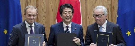 Ue-Giappone, patto libero scambio: «Segnale contro protezionismo»