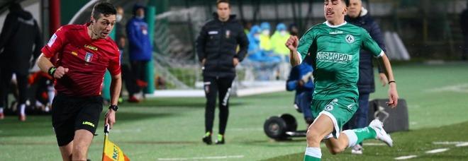 Punto prezioso per l'Avellino, 1-1 sul campo del Teramo