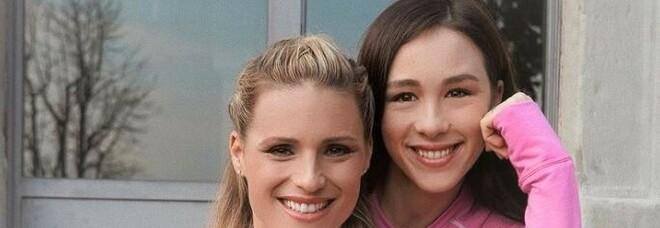 Michelle Hunziker: «Ecco perchè Aurora ha i tratti asiatici»