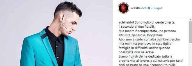 alta moda Prezzo del 50% cerca genuino Achille Lauro: «Ho pagato i gioielli che mia madre aveva ...